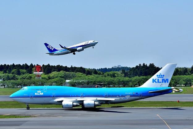 KLM & ANA