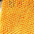 Photos: 鹿の子編み