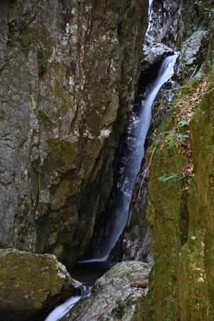 くらがり又谷の滝中段