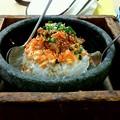 写真: 桃太郎石焼キムチ