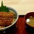 写真: 足柄SA 穴子丼