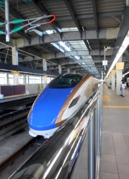 E7系F13編成(12両編成) 回送列車