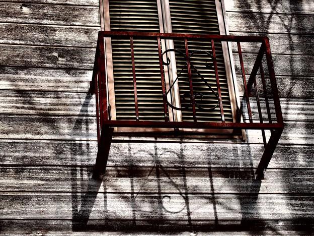 ある午後の陽の窓