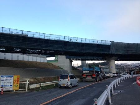 20150325 新名神高速道路の高槻ジャンクション工事