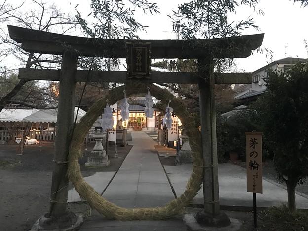 写真: 20170102 阿久刀神社