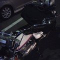 今宵急遽の滋賀帰省で山科通過!!すでに1℃!!大寒過ぎてバイクの体感は氷点下(*_*)こりゃ冷える~早く温かくな~れ☆