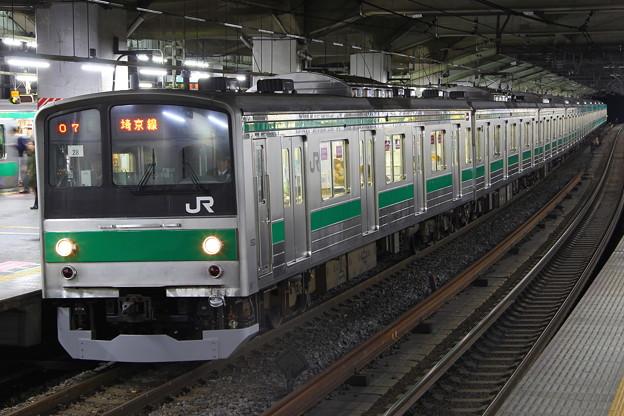 埼京線205系ハエ28編成新宿行き