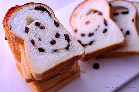 湯種レーズン食パン