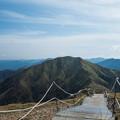 写真: 気持ちよさそうな山が