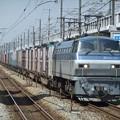 Photos: EF66 129+コキ