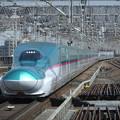 Photos: 東北新幹線E5系 U18編成他17両編成