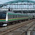 Photos: 高崎線・上野東京ラインE233系3000番台 U622編成他15両編成