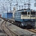Photos: EF65 2121+コキ