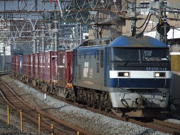 Photos: EF210-114+コキ