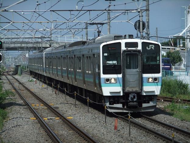 中央線211系3000番台 N312編成他6両編成
