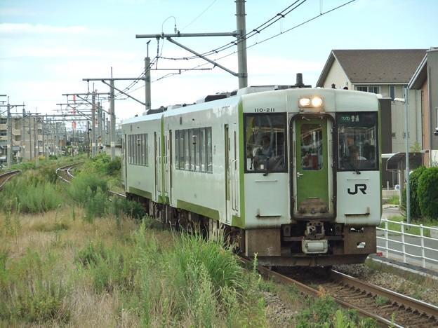磐越西線キハ110系200番台 キハ110-211他2両編成