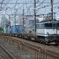 Photos: EF65 2096+コキ