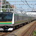 東海道線E233系3000番台 E-07+U-107編成