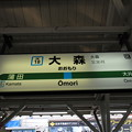 Photos: #JK18 大森駅 駅名標【南行】