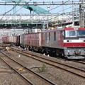 Photos: EH500-9+コキ