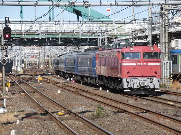 Photos: EF81 81+12系【懐かしの急行列車】