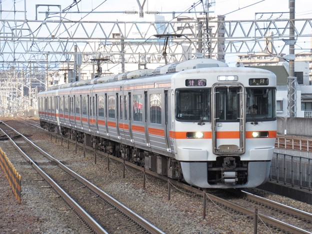 東海道線313系1100番台 J2+Y33編成