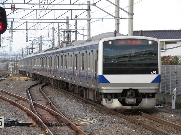 常磐線E531系 K403編成