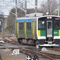 Photos: 久留里線キハE130系100番台 キハE130-104