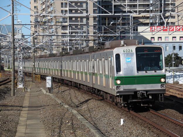 東京メトロ千代田線6000系 6124F