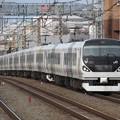 回送列車E257系0番台 M-201+M-110編成