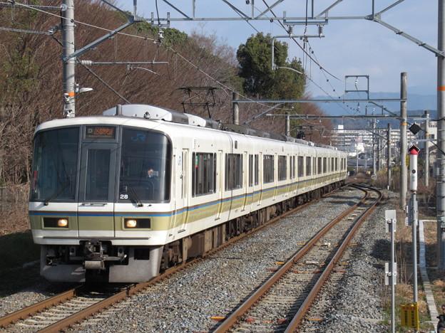 奈良線区間快速221系 NC605編成
