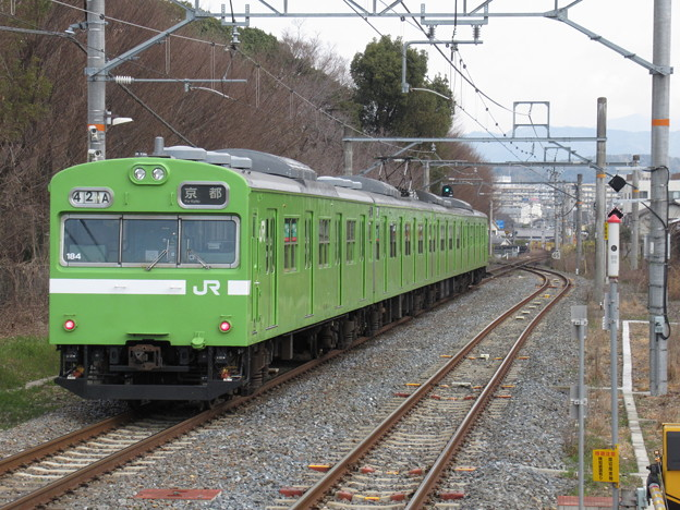 奈良線103系 NS404編成
