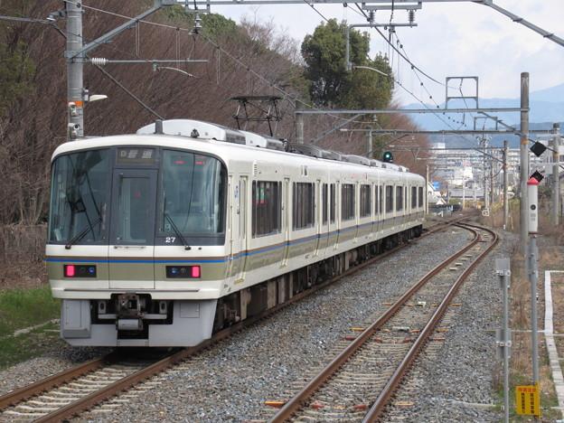 奈良線221系 NA414編成