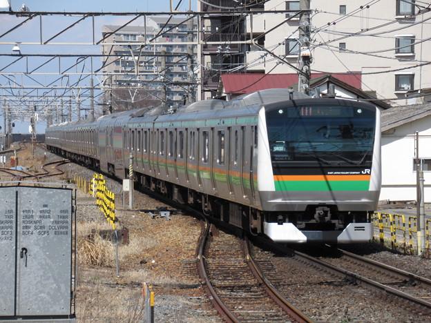 Photos: 湘南新宿ラインE233系3000番台 U632+U51編成