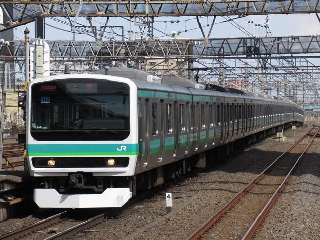 常磐快速線E231系0番台 マト114+マト134編成