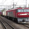 Photos: EH500-81+コキ