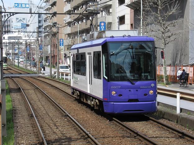 Photos: 都電荒川線8800形 8807号車
