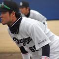 赤坂和幸選一塁手。