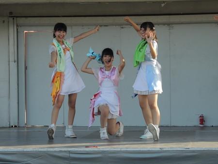 8/27(土) 稲沢夏まつりで LOVE INA30(ラヴィーナサーティ)のライブがありました。
