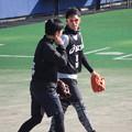 Photos: 京田くんと石垣くん。
