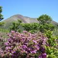 中岳中腹から望む高千穂峰