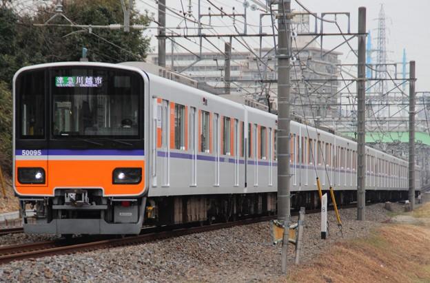 3313レ 51095F(2015/1/15 柳瀬川-みずほ台間にて)