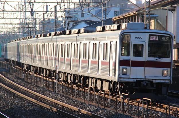 D701T 9107F(2015/1/16 朝霞-朝霞台間にて)