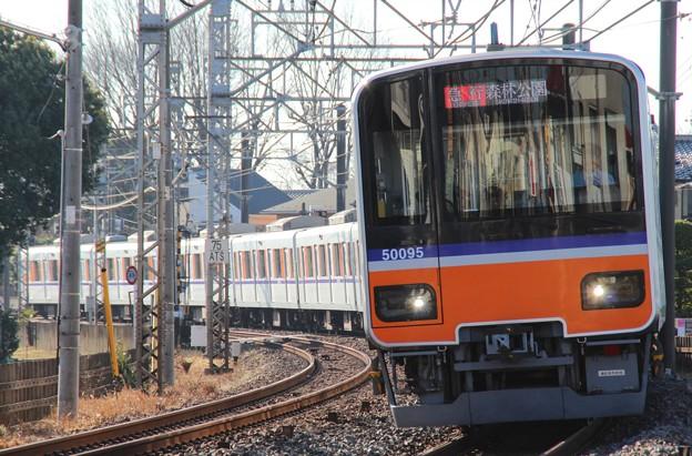 1203レ 51095F(2015/1/16 坂戸-北坂戸間にて)