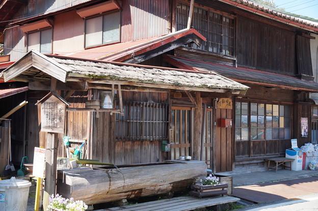 水舟のある宿場町
