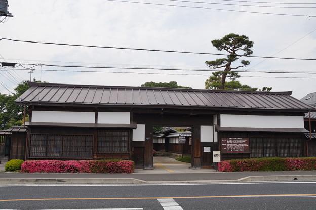 矢板武記念館 長屋門