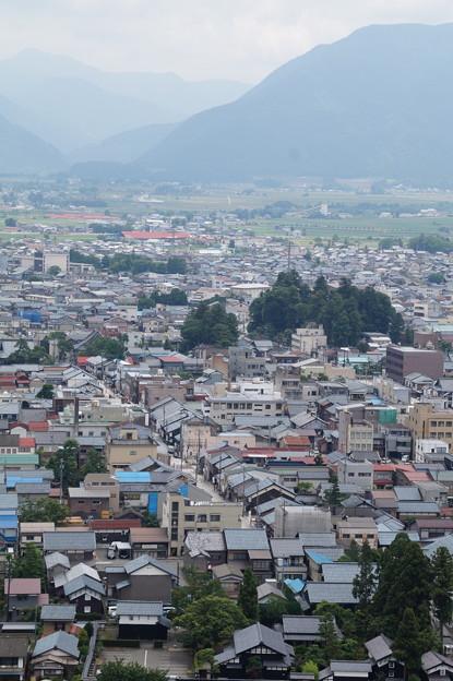 大野市街を望む 4