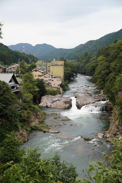 宇連川の渓谷 3