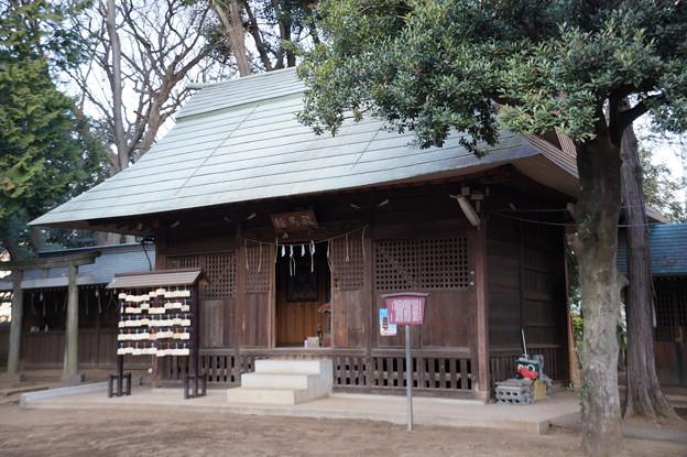 城山熊野神社 絵馬殿