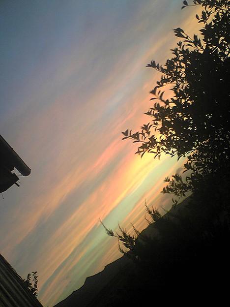 夕焼け綺麗